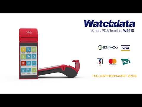 Android Ticketing Machine Watchdata Smart POS