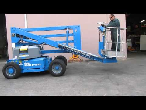 Genie Z-45/22 Articulated Boom Lift Aerial Manlift Electric 45' High Mp3
