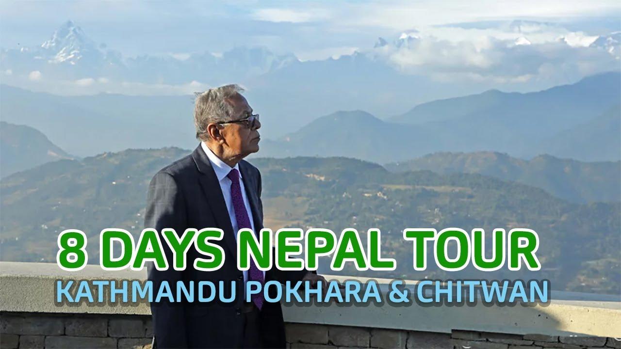 Kathmandu Pokhara Chitwan Tour Video