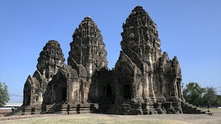 preview picture of video 'Exploring Monkey Temple in Lopburi, Thailand'