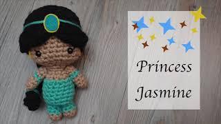 Crochet Princess Jasmine | Amigurumi | Aladdin