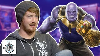Thanos Gets The Infinity Gauntlet?   DEATH BATTLE Cast