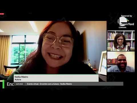 Evento virtual - Encontro com a Autora - Noélia Ribeiro -  26/11/2020 - 18:01