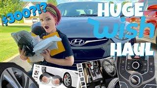 HUGE WISH CAR ACCESSORIES HAUL! I SPENT $300?!?