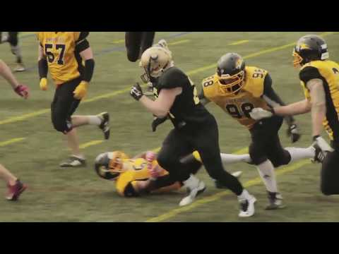 Solent Thrashers American Football video 5