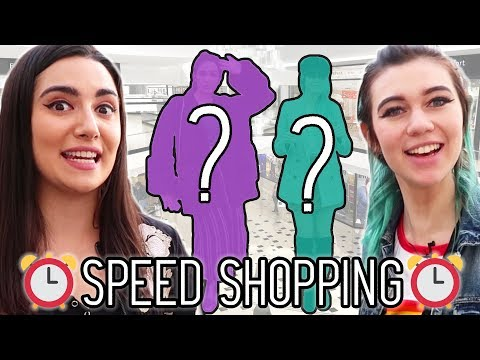 Buying An Entire Outfit In 3 Minutes (feat. Jessie Paege)
