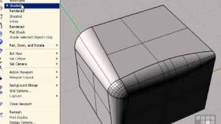 Fillet And Champher - Rhino 4 Tutorial