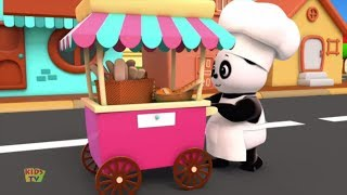 Hot Cross Buns | Baby Bao Panda Cartoons For Kids