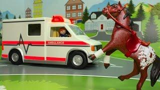 Мультфильмы - Лошадка в беде! Скорая помощь в видео для детей. Развивающие мультики Про машинки 2017