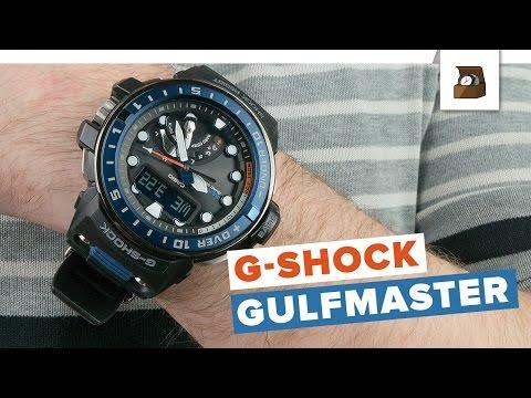 G-Shock GULFMASTER QUADSENSOR // Testbericht // Deutsch // 4K