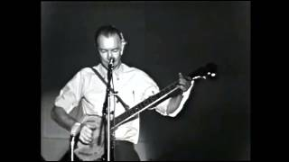 PETE SEEGER ⑪ Where Have All The Flowers Gone Live In Sweden 1968