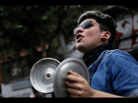 Nuevo cacerolazo convoco a los ciudadanos en las principales ciudades del pais
