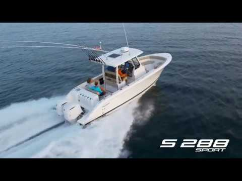 Pursuit S 288 Sport video