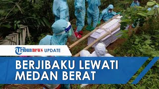 Viral Kisah Relawan Berjibaku Lewati Medan Berat demi Makamkan Jenazah Pasien Covid-19 di Kulonprogo