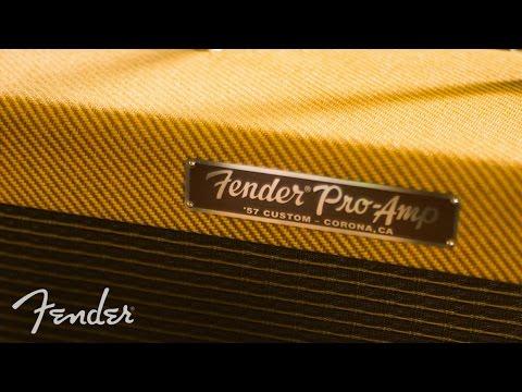 FENDER 57 Custom Pro Kytarové lampové kombo