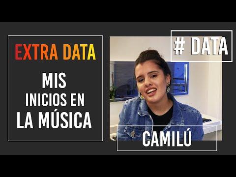 Camilú video Mis inicios en la música - # DATA