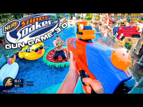 NERF GUN GAME   SUPER SOAKER EDITION 3.0 (Nerf First Person Shooter)