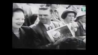 Hoad Trabert 1953 Davis Cup Highlights