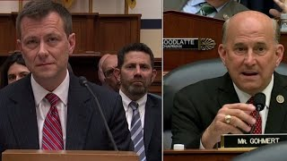 Rep. Louie Gohmert gets personal in heated exchange with Peter Strzok
