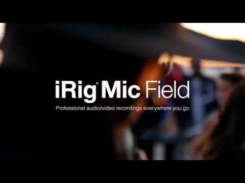 iRig Mic Field - stereomikrofon för iPhone, iPad