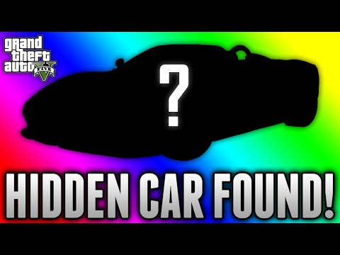 GTA 5 HIDDEN CAR FOUND! - Unseen Secret Car Discovered On GTA 5 (GTA 5 Rare & Secret Cars)