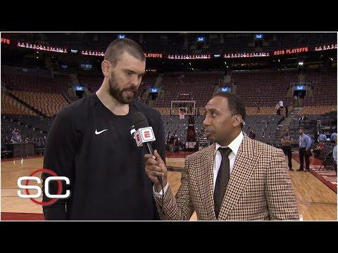 Stephen A. breaks down Raptors' win with Marc Gasol, criticizes Bucks' defense | 2019 NBA Playoffs