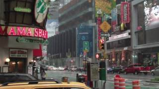 New York July 2009 heavy rain