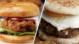 5 Burger Recipes That Will Make Your Mouth Water • Tasty