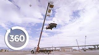 Vacuum Car Lift (360 Video) | MythBusters