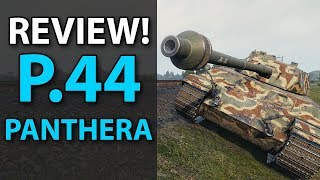 P.44 PANTHERA - Review - World of Tanks - Is it worth it?