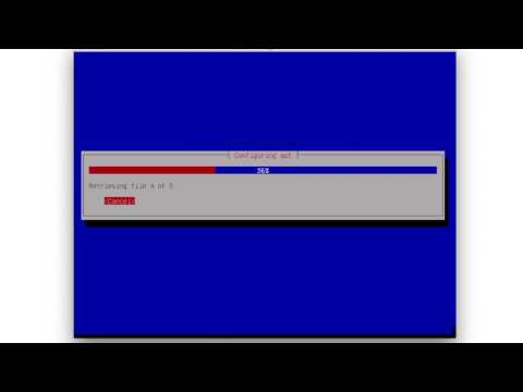 Debian installation on YouTube