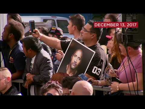 Dwayne 'The Rock' Johnson gets star on Hollywood Walk of Fame | ABC7