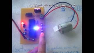 Video Mạch điều khiển tốc độ động cơ