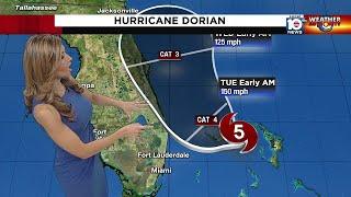 Hurricane Dorian 5 a.m. advisory Sept. 2