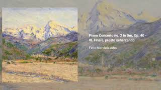 Piano Concerto no. 2 in D minor, Op. 40