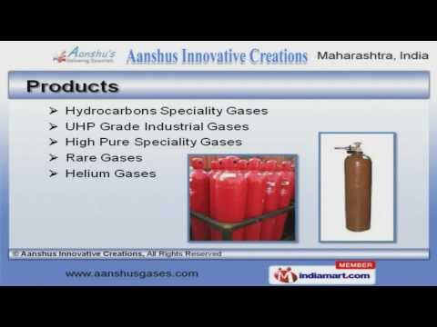 Gas Cylinder and High Pure Speciality Gases Manufacturer | Aanshus