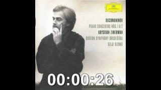 Rachmaninoff Piano Concerto No. 2, Movement 1 // Krystian Zimerman, Seiji Ozawa, BSO