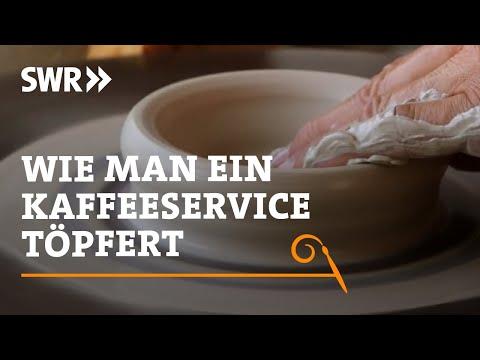 Handwerkskunst! Wie man ein Kaffeeservice töpfert   SWR Fernsehen