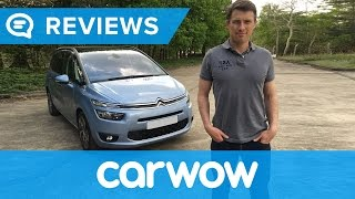 Citroen Grand C4 Picasso 7 Seater 2017 review | Mat Watson Reviews