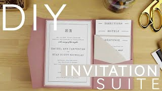 Creating Your Own Invitation Suite