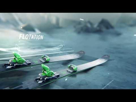 Смотреть видео Горные лыжи Head Kore 117 + крепления Attack2 16 GW 19/20