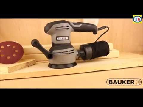 Bauker 400W 125mm Rotary Sander