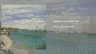 Partita no. 5, BWV 829