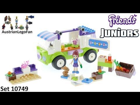 Vidéo LEGO Juniors 10749 : Le marché bio de Mia