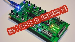 How I created the Traktorino PCB - the Arduino Uno shield for Traktor