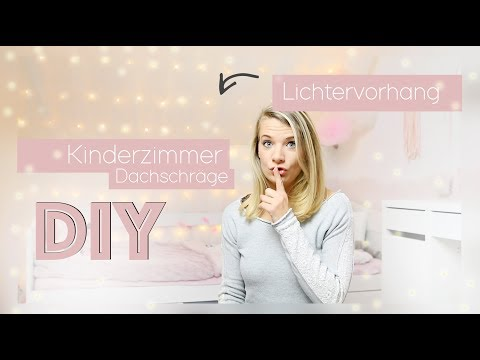 Nine macht´s ... DIY Kinderzimmer - Ikea Hack -  Led Lichtervorhang + Outtakes // delari