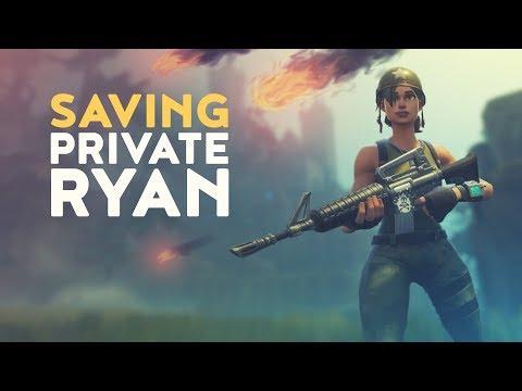 SAVING PRIVATE RYAN (Fortnite Battle Royale)