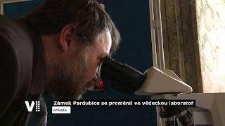 Zámek Pardubice se proměnil ve vědeckou laboratoř