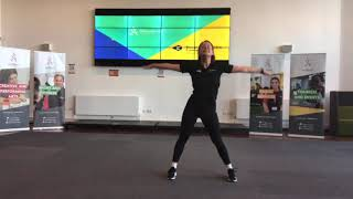 video: Join in with free online PE lessons: dance fit