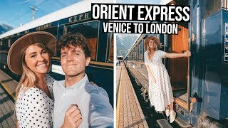 Venice Simplon Orient Express Full Experience Luxurious Train | Venice to London